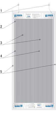 Схема устройства электро нагревателя ПЛЭН