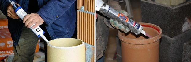 Термостойкий герметик для печей, высокотемпературный герметик для дымохода