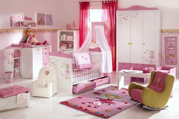 Детская спальня для девочки дизайн