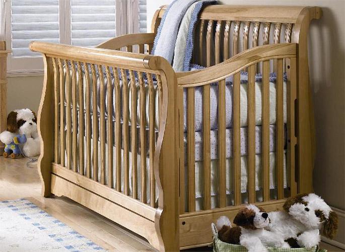 детской кроватки сборки порядок