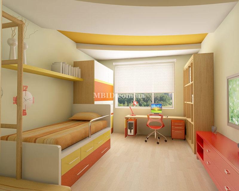 Дизайн комнаты для двух разнополых детей - 75 фото для