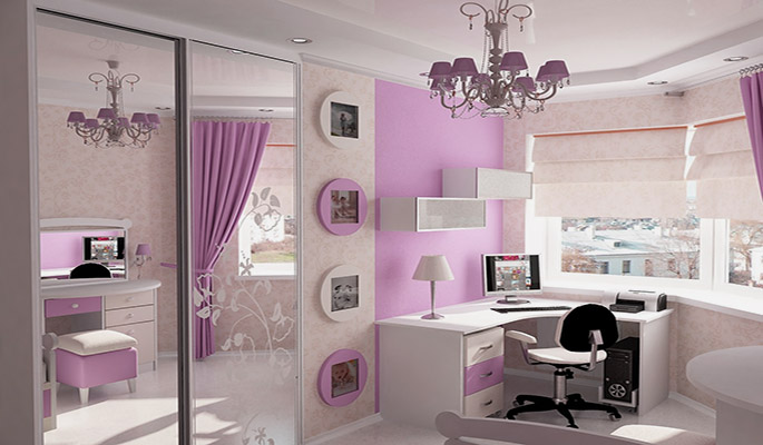 Дизайн комнаты для девочки подростка ...
