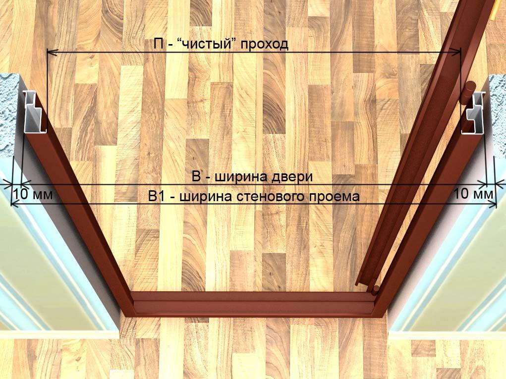 Инструкция установка двери