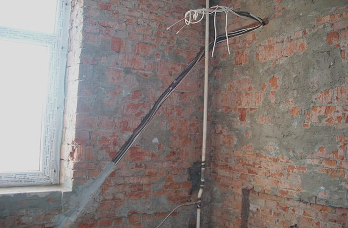 Штробление стены под проводку своими руками фото 910