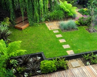 Уникальный садовый дизайн своими руками