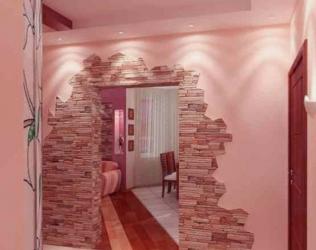 Как красиво оформить дверной проем