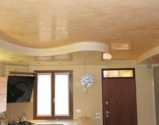 Монтаж натяжного потолка