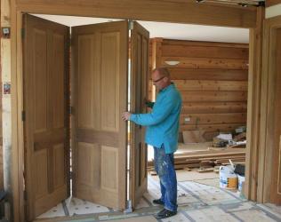 Установка раздвижных дверей - советы и правила установки