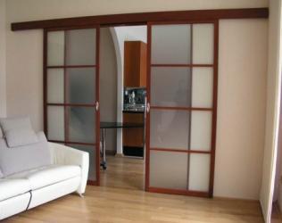 Двери раздвижные межкомнатные: гармошка или книжка? Делаем выбор