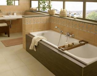 Установка акриловой ванны: обзор способов