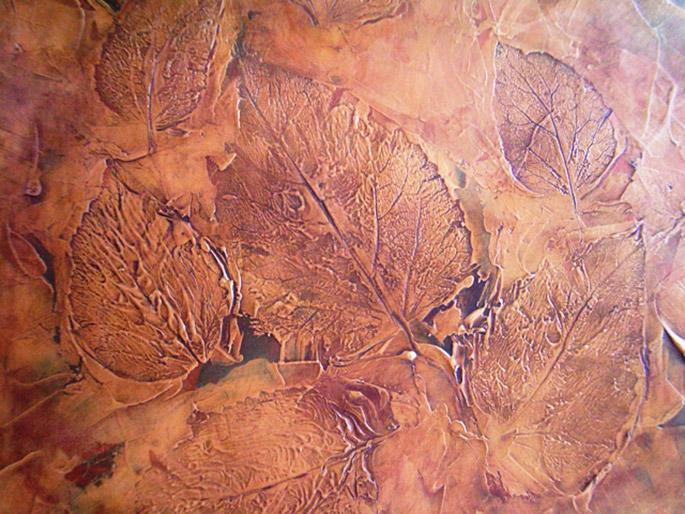 Фактура листьев Пермь декоративная штукатурка