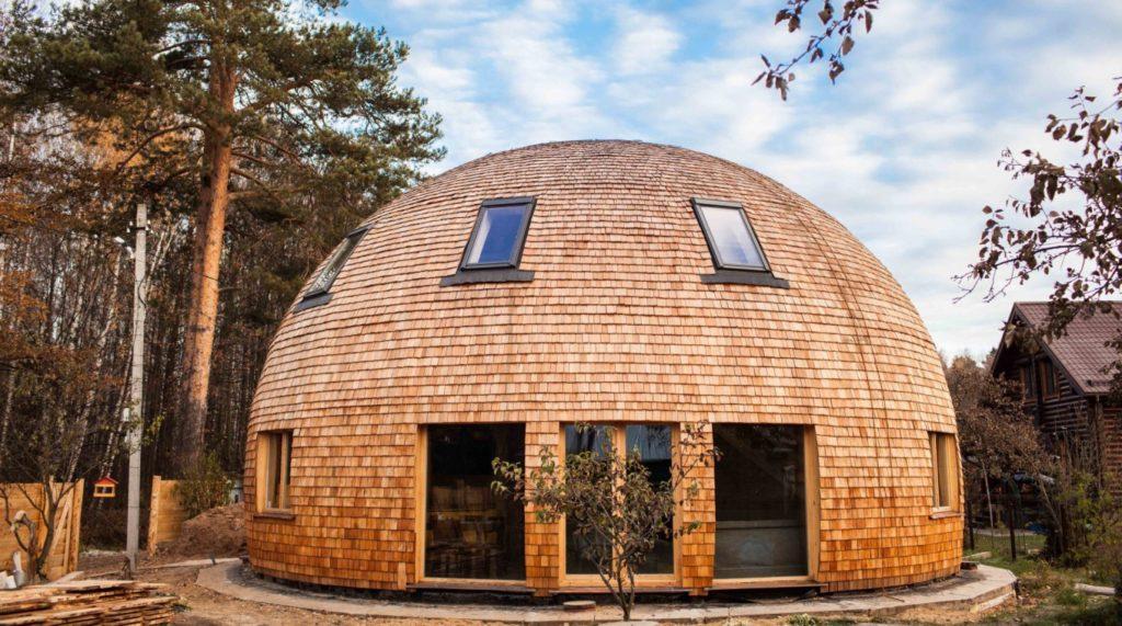 6 преимуществ круглых загородных домов