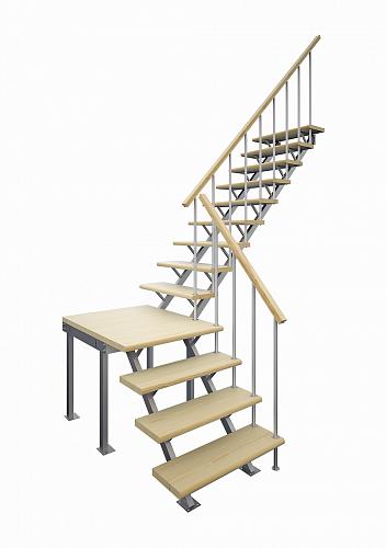 Деревянная лестница: преимущества и достоинства
