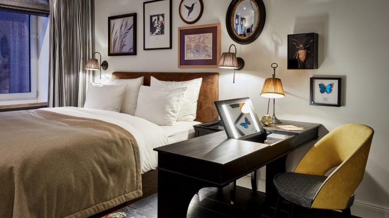 Выбор светильника для отеля