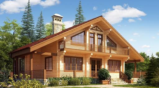 Строим дома и дачи из профилированного природно-чистого дерева