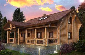 Дом из лиственницы: великолепная эстетика и высокое качество