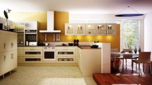 6 вариантов планировки кухни
