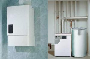Какой газовый котел выбрать: настенный или напольный?