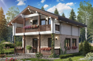 Сооружение каркасных домов из древесных материалов