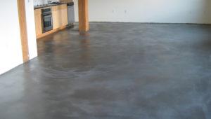 Как правильно сделать бетонное половое покрытие?