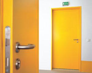 Порошковая покраска металлических дверей